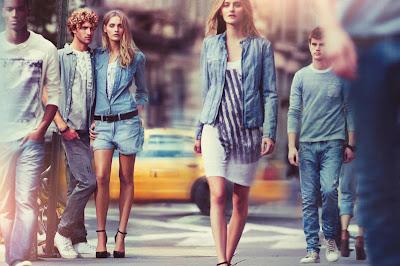DKNY Campaña primavera 2011