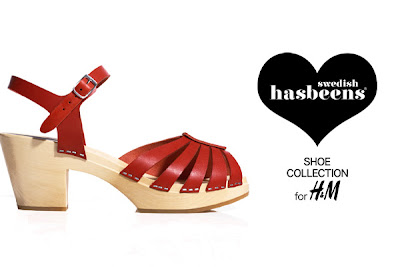Swedish Hasbeens para H&M Collection