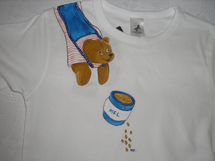 T-shirt ursinho guloso