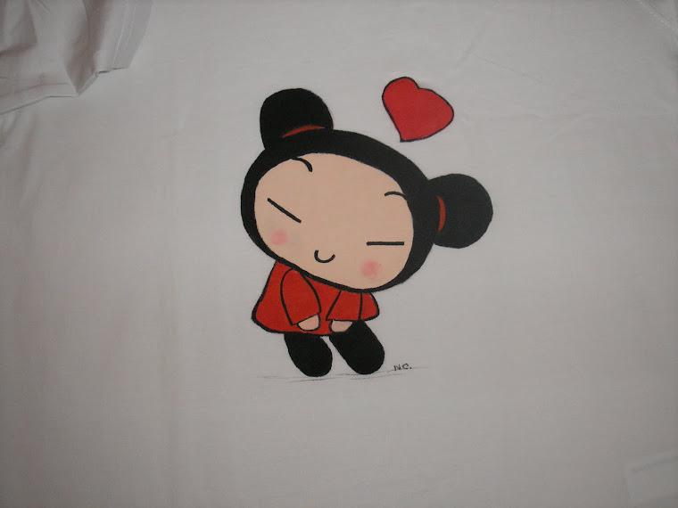T-shirt com a Pucca