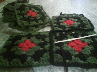 Comenzando a tejer mis cuadraditos a crochet - Cuadraditos de crochet ...