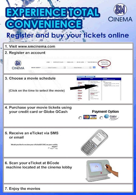 How to buy your SM Cinema Tickets Online