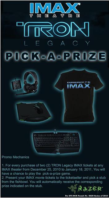 Imax Tron Legacy Promo