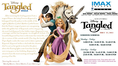 Tangled on Imax 3D