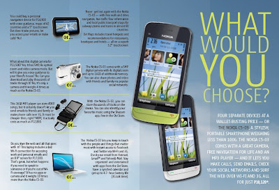 Nokia C5-03: A 3G touch smartphone with Wi-Fi