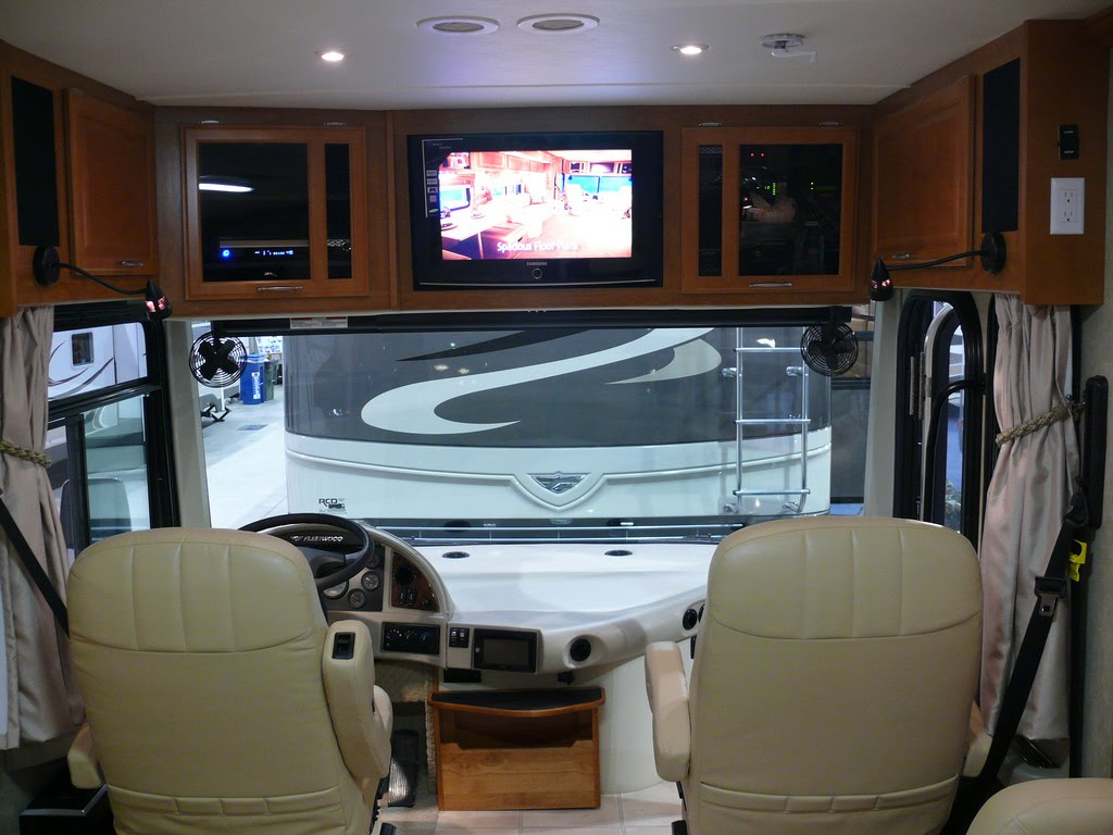 the new rv s all have new digital tvs but what do you do when your rv
