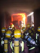 Flashover gasos