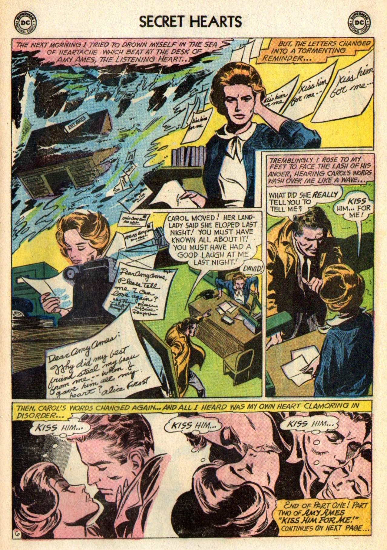 Read online Secret Hearts comic -  Issue #98 - 25