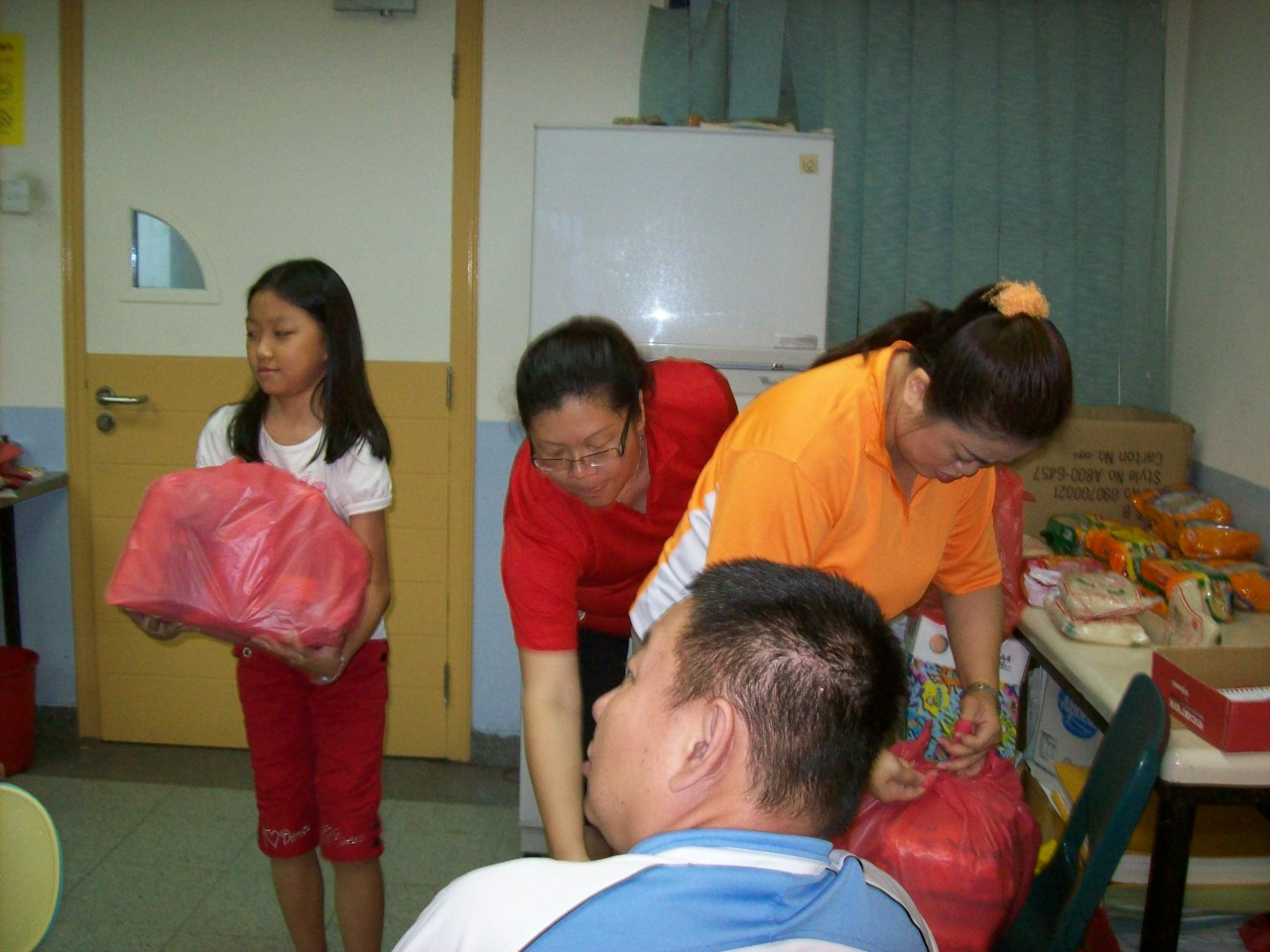 WHAMPOA: Food Ration Healthy Cooking Demonstration