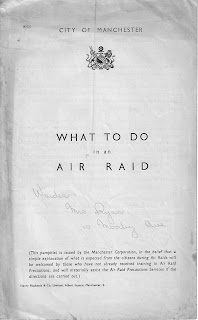 Air raid, blitz, Civil defence, public information leaflet, Second World War, World War Two, World War 2, WWII, History, Home Front