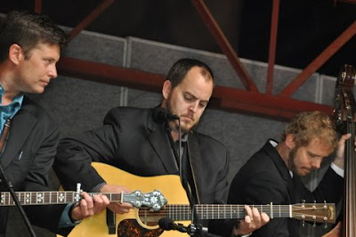 The Gibson Brothers perform at Strawberry Park's Bluegrass Festival