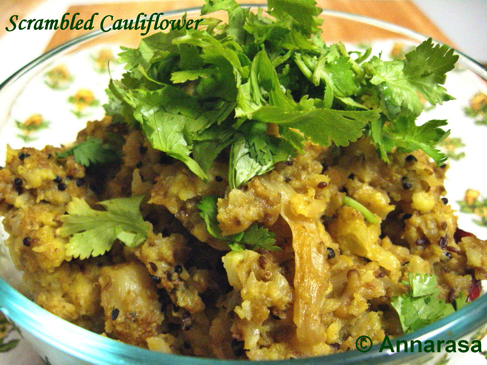 Cauliflower With Nigella (Kalonji) Recipes — Dishmaps