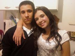 Meus filhos Marcos e Milene
