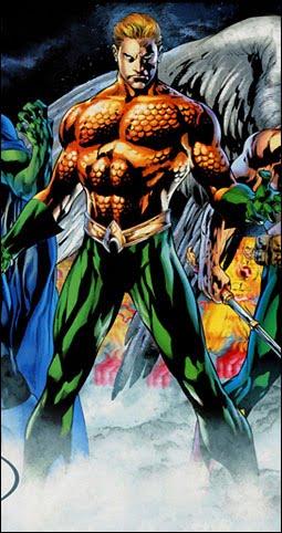 Arthur Curry. Aquaman.