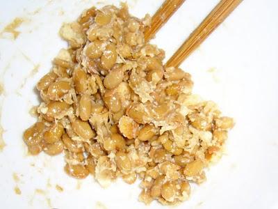 納豆にココナッツサブレ感覚