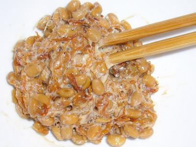 納豆にちりめん山椒感覚