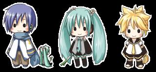 Vocaloid Anime CHibi