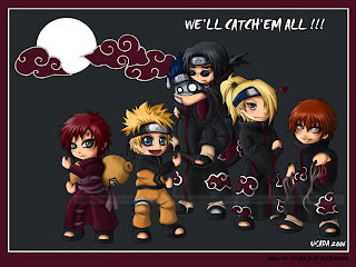 Chibi Naruto Overload Wallpaper