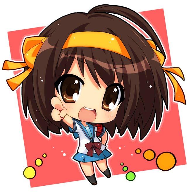 Anime Characters Chibi : Chibi anime gallery haruhi suzumiya girl