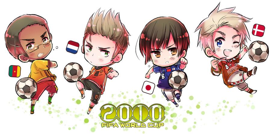 Chibi hetalia world cup 2010
