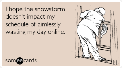 Everyday K: Snow Day Funnies!!