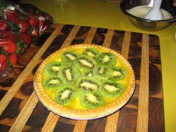 Lemon & Kiwi Fruit Tart