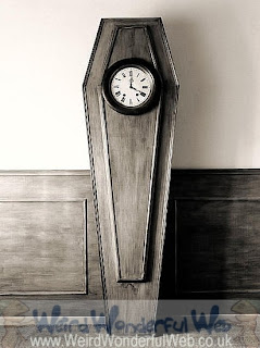 IMAGE: Clock on coffin-Chema Madoz