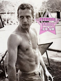 IMAGE: Paul Newman - Bare chested