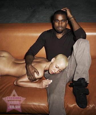 IMAGE: Kanye West and Amber Rose