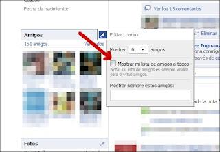 Crea Listas de Amigos en Facebook