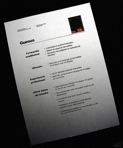 modelo de curriculum vitae. modelo de curriculum vitae. de