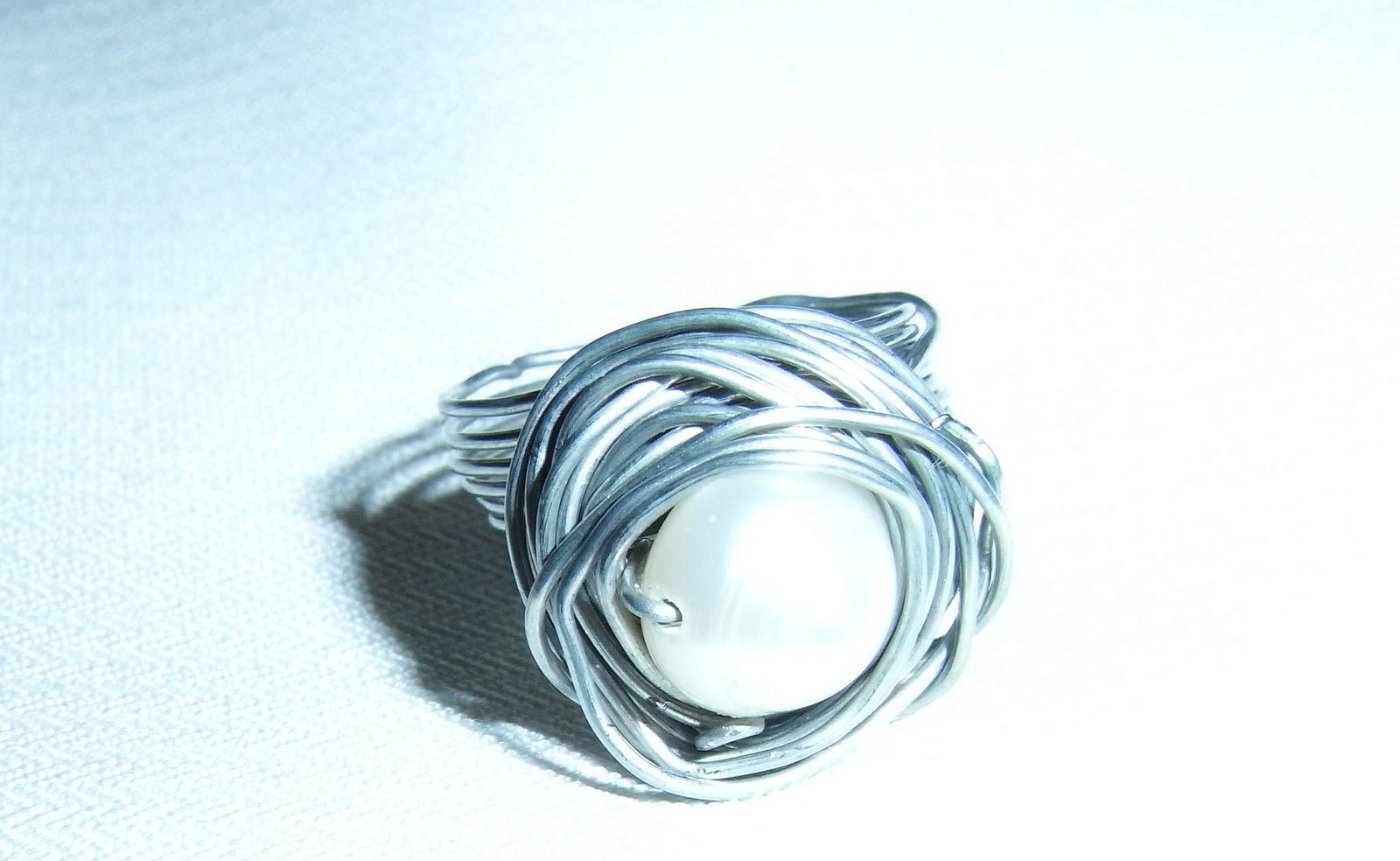 Bubu y p alambre galvanizado y perla de r o - Alambre galvanizado manualidades ...