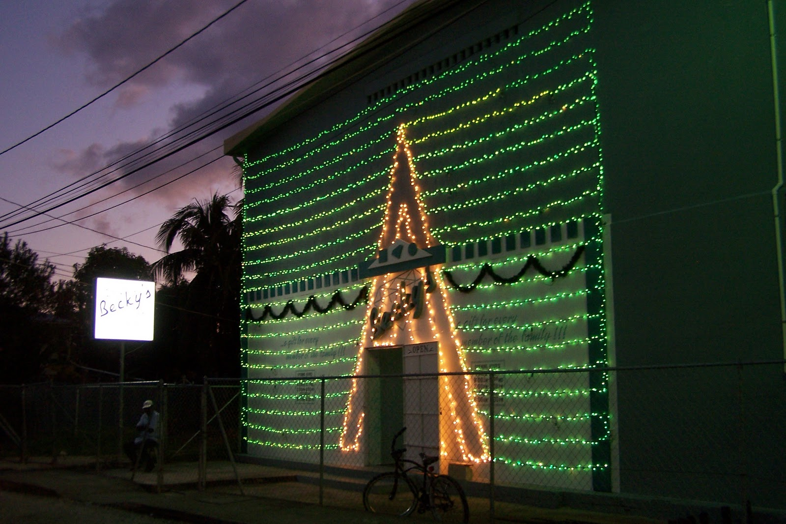 1st String Of Christmas Tree Lights Created By Thomas Edison : Platinum International Real Estate and Investments - Belize Division.: Christmas Lights Around ...