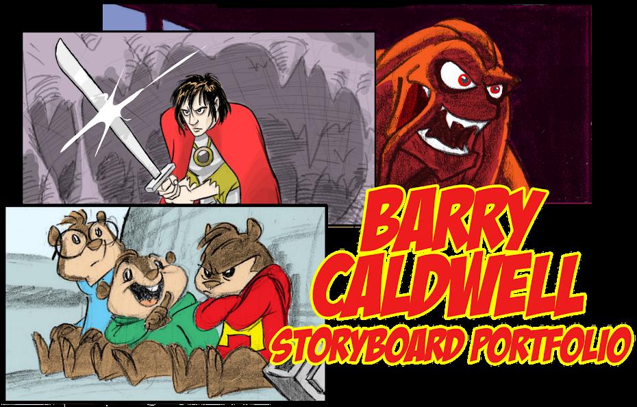 Barry Caldwell Storyboard Portfolio