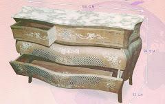 (23)بايوه شبكه 4 درج من الخشب الزان والسويد والقشره الطبيعيه ومارتيكليه يدوي
