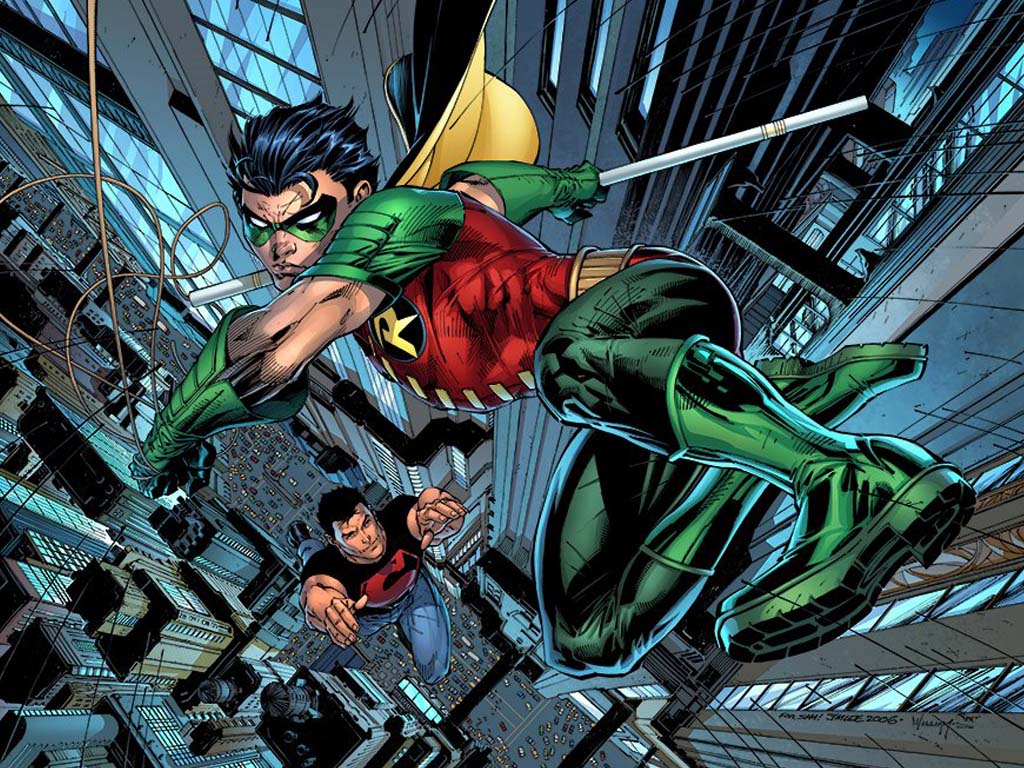 It's A Dan's World: RO... Robin The Boy Wonder Young Justice