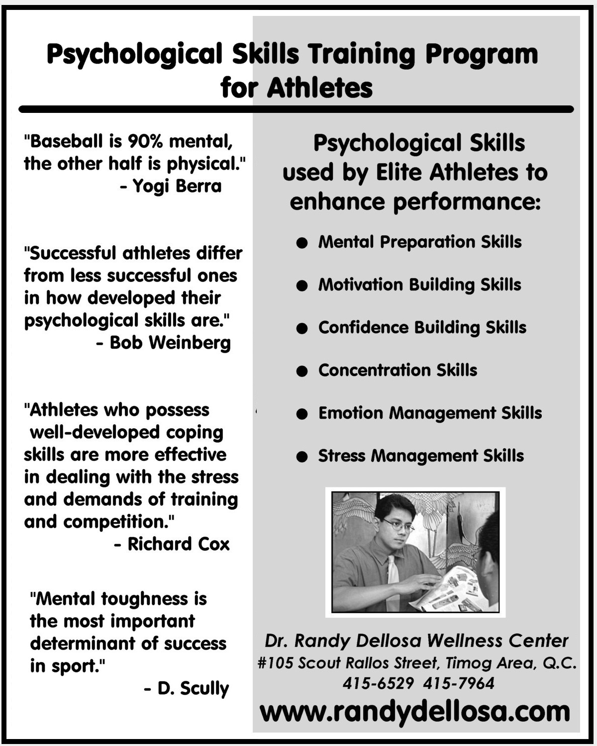 a quest of sport psychologists for developing successful programs for athletes Competition can cause athletes to become shortsighted and thus hinder them from fully developing the value that athletes place on competitive success makes sport a domain for teaching integrity and at its best, then, competition should involve a quest for excellence between evenly matched.