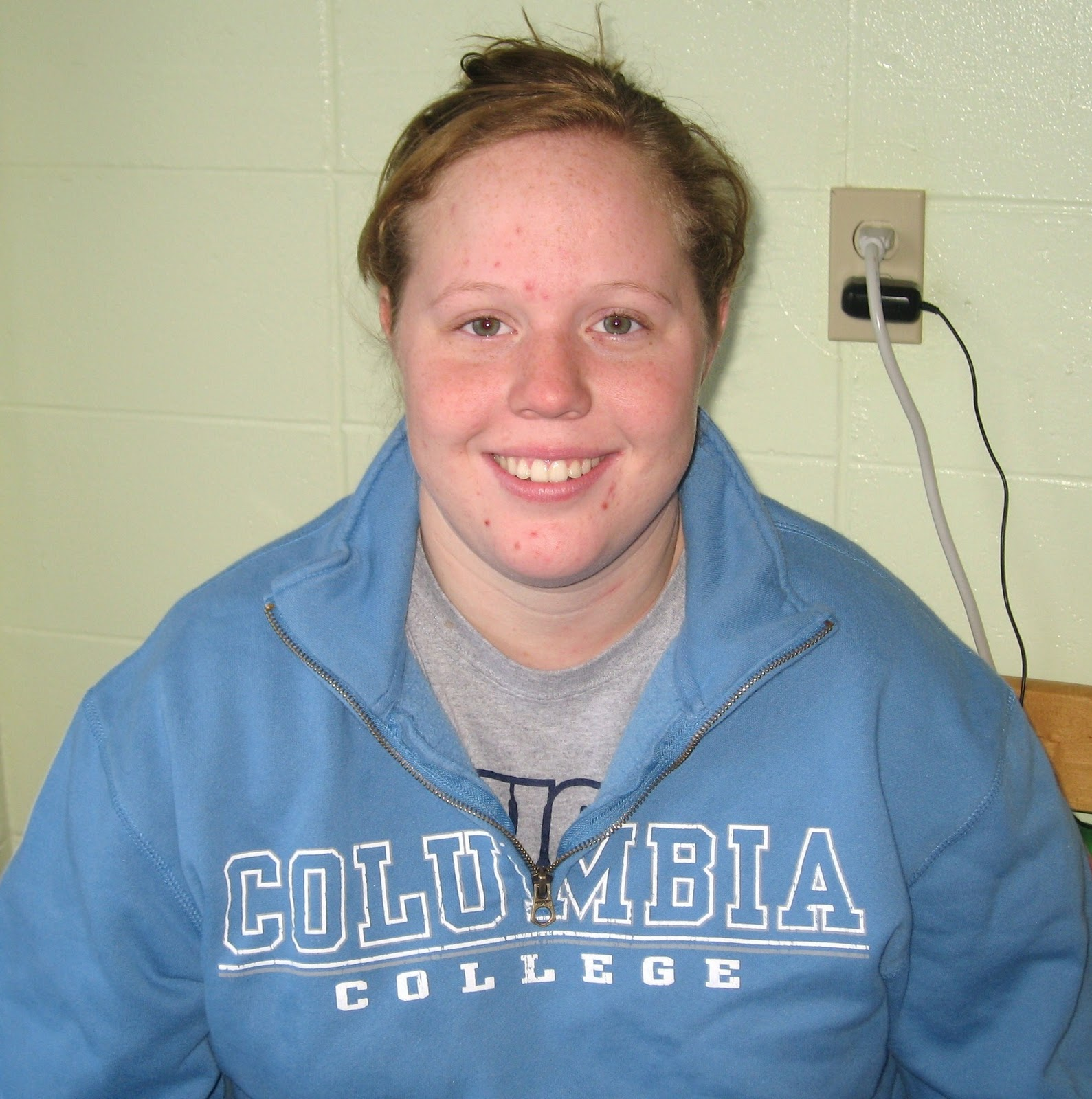 the columbian ellen wilson sophomore human services and elementary education major