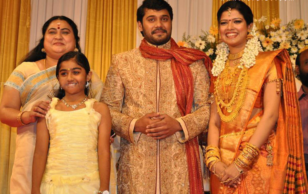 Bala and Amrutha suresh wedding reception -Photo gallery