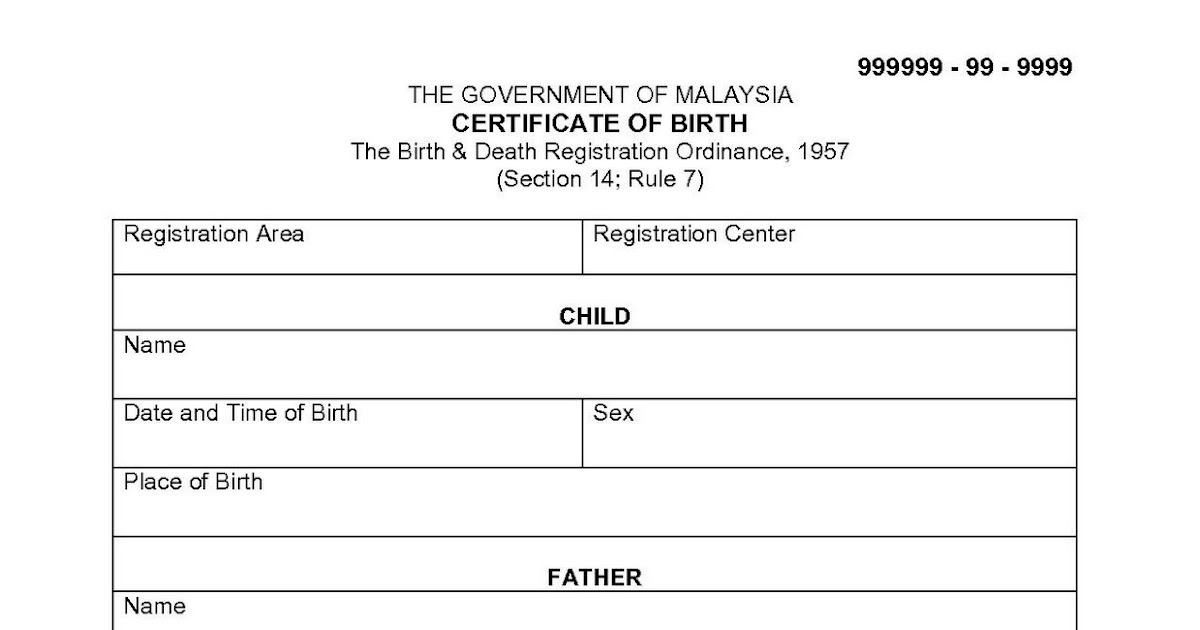 Birth certificate malaysia in english sample image collections migration to australia diy sample translated documents yadclub image collections yelopaper Images