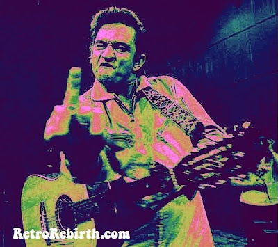 Johnny Cash, Johnny Cash Birthday, , Johnny Cash Middle Finger, Happy Birthday Feb 26, Country Music Musician