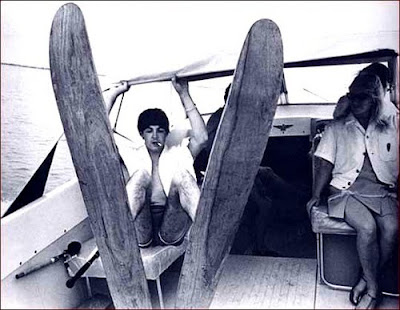 Paul McCartney Water Skiing, Paul McCartney Boat