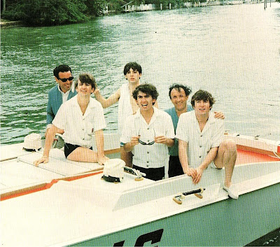 Beatles, Fab Four, Beatles Boat, Beatles Swimming, Beatles Miami, Beatles Beach, Beatles Photos