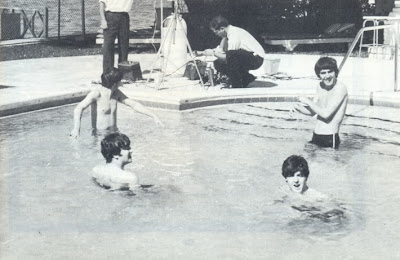 Beatles, Fab Four, Beatles Pool, Beatles Swimming, Beatles Miami, Beatles Beach, Beatles Photos