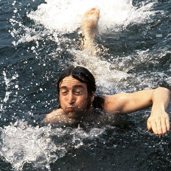 John Lennon, John Lennon Swimming, Beatles