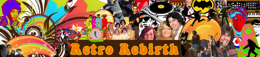 Retro Rebirth Classic Rock Music & Retro Pop Culture
