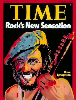 Bruce Springsteen, Time Magazine Cover, 1975