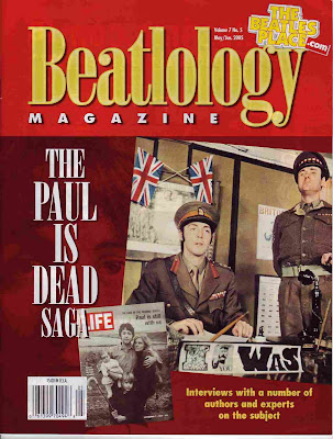 Paul Is Dead, Beatles, Magazine
