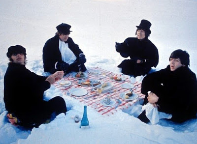 beatles, beatles snow picnic