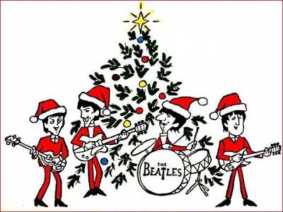 Beatles, Beatles Cartoon, Beatles Christmas